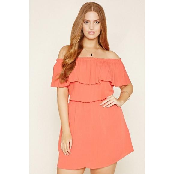 Forever 21 Plus Dresses | Plus Size Crinkled Gauze Dress | Poshmark